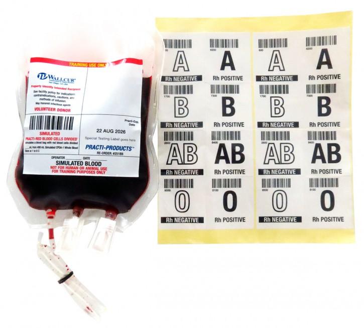 Practi-Blood Bag™ EK Konzentrat  (für Trainingszwecke)