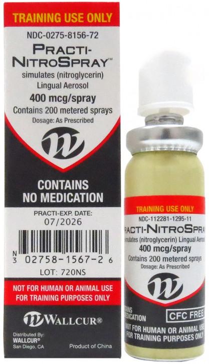 Practi-Nitroglycerin Spray ™ (für Trainingszwecke)