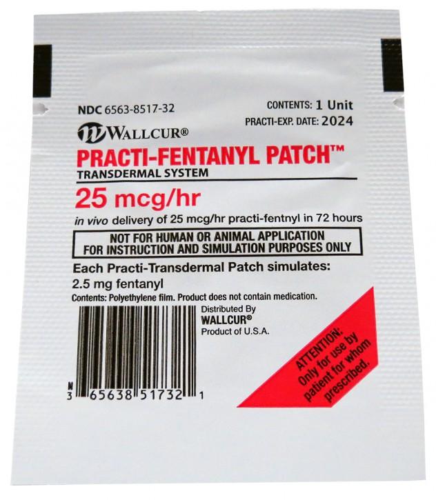 Practi-Fentanyl Patch™ (für Trainingszwecke) 100 Stück