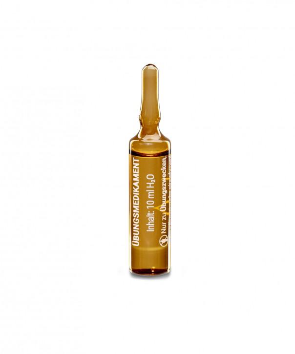 10 ml Brechampulle Braunglas / 100er