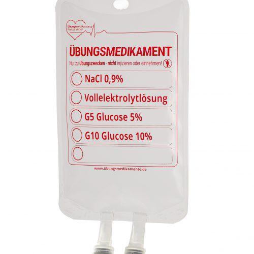 TRAINI-Infusionbeutel 500 ml unbefüllt (50 Stück)