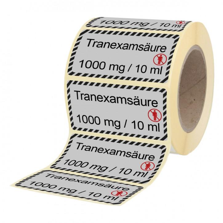 Tranexamsäure 1000 mg / 10 ml - Etiketten für Brechampullen