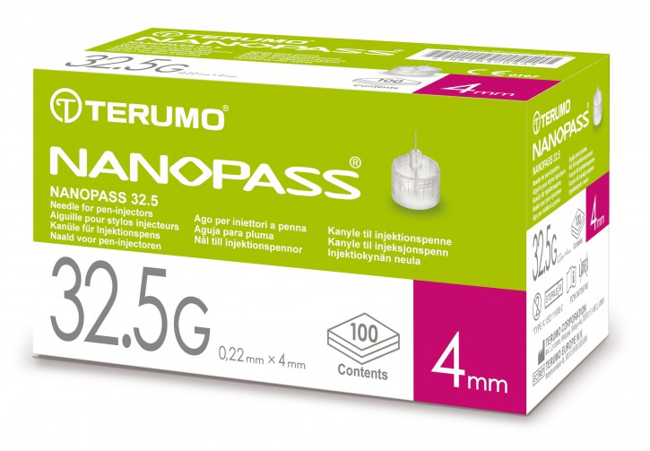 Nanopass Kanüle für Injektionspen 100 Stück
