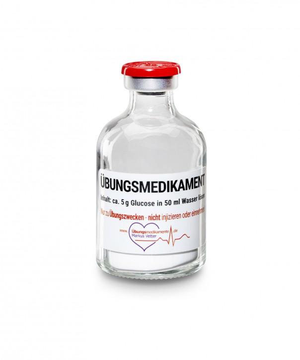 Stechampulle 50 ml 5g Trockenglukose, Flip-off / 100er